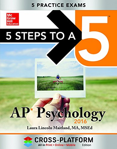 9780071844437: 5 Steps to a 5 AP Psychology 2016, Cross-Platform Edition