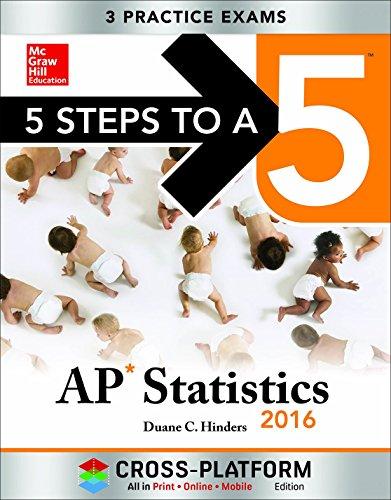 9780071844468: 5 Steps to a 5 AP Statistics 2016, Cross-Platform Edition