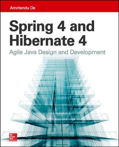 9780071845113: Spring 4 and Hibernate 4: Agile Java Design and Development