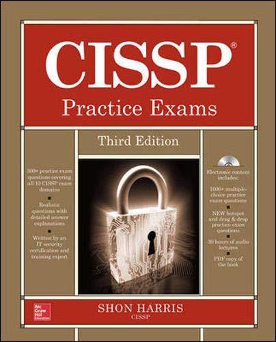 9780071845427: CISSP Practice Exams, Third Edition