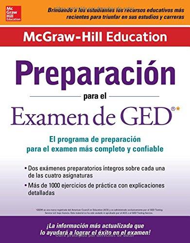 9780071845700: Preparación para el Examen de GED (Spanish Edition)