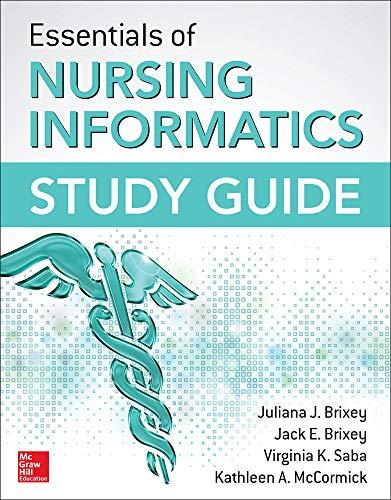 9780071845892: Essentials of Nursing Informatics Study Guide