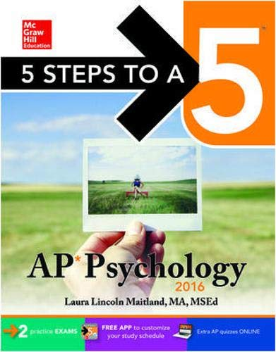 9780071846103: 5 Steps to a 5 AP Psychology 2016 (5 Steps to a 5 on the Advanced Placement Examinations Series)