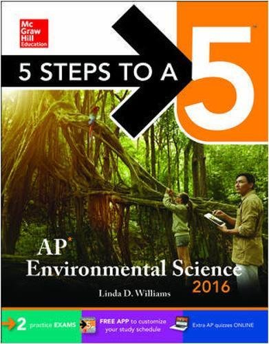 9780071846257: 5 Steps to a 5: AP Environmental Science 2016