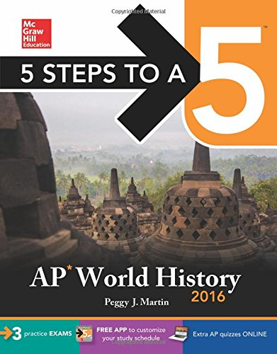 9780071846653: 5 Steps to a 5 AP World History 2016