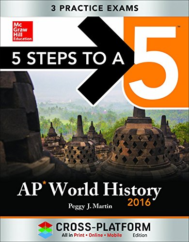 9780071846905: 5 Steps to a 5 AP World History 2016, Cross-Platform Edition