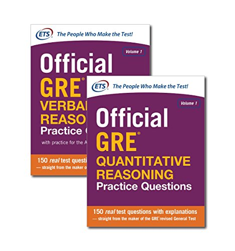 9780071847025: Official GRE Value Combo