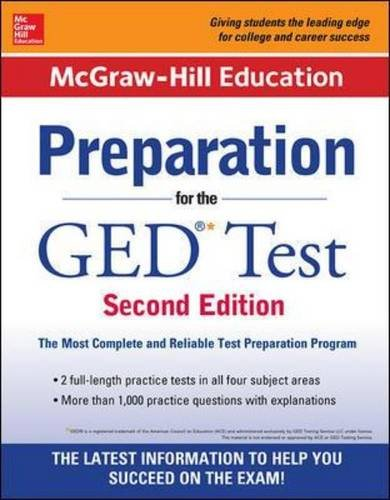 9780071847209: McGraw-Hill Education Preparation for the GED Test 2nd Edition
