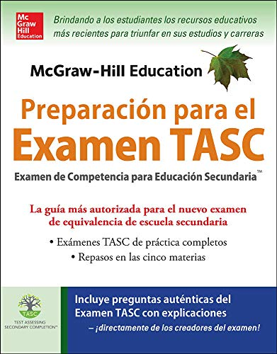9780071847605: McGraw-Hill Education Preparación para el Examen TASC (Spanish Edition)