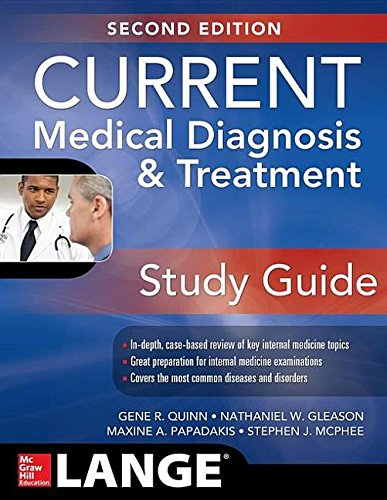 9780071848046: Current Medical Diagnosis & Treatment Study Guide (Current Medical Diagnosis and Treatment Study Guide)