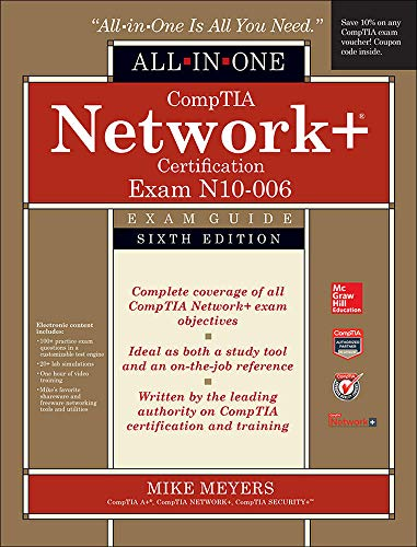 9780071848220: CompTIA Network+ All-In-One Exam Guide, Sixth Edition (Exam N10-006)