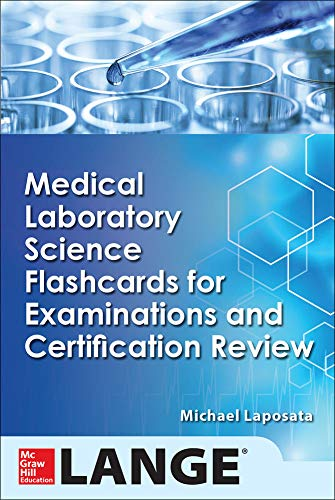 9780071848367: Medical Laboratory Science Flash Cards for Examinations and Certification Review