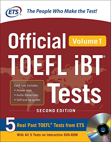 9780071848442: Official TOEFL IBT testes. Con DVD-ROM: 1 (Official Toefl iBT Tests)