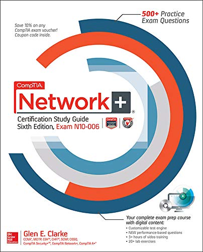 9780071848886: CompTIA Network+ Certification Study Guide, Sixth Edition (Exam N10-006)