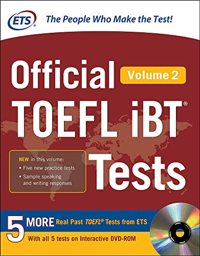 9780071848961: Official TOEFL iBT Tests Volume 2