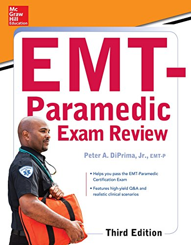 9780071849029: McGraw-Hill Education's EMT-Paramedic Exam Review, Third Edition
