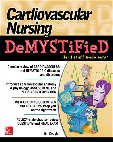 9780071849180: Cardiovascular Nursing Demystified
