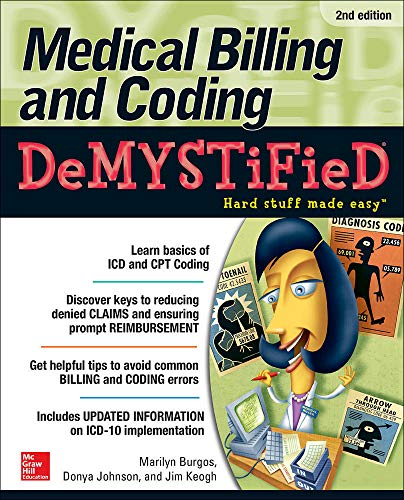 9780071849340: Medical Billing & Coding Demystified, 2nd Edition