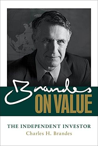 9780071849357: Brandes on Value: The Independent Investor