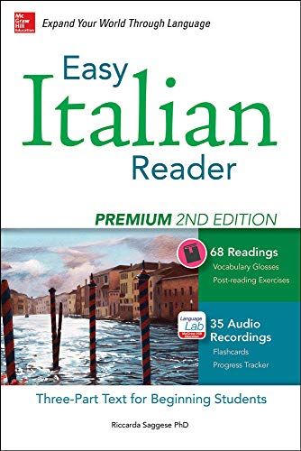 9780071849838: Easy Italian Reader, Premium 2nd Edition: A Three-Part Text for Beginning Students