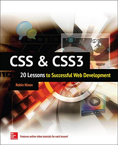 9780071849968: CSS & CSS3: 20 Lessons to Successful Web Development