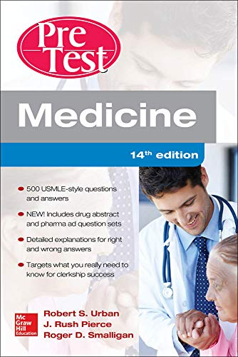 9780071850056: Medicine PreTest Self-Assessment and Review, Fourteenth Edition
