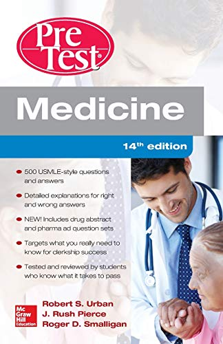 9780071850056: Medicine Pretest Self-assessment and Review