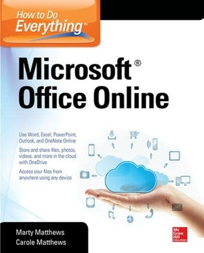 How To Do Everything: Microsoft Office Online (paperback Or Softback)