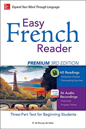 9780071850179: Easy French Reader Premium, Third Edition: A Three-Part Text for Beginning Students + 120 Minutes of Streaming Audio (Easy Reader Series)