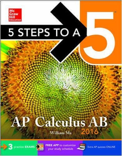 9780071850278: 5 Steps to a 5 AP Calculus AB 2016