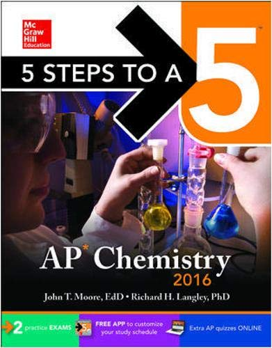 9780071850315: 5 Steps to a 5 AP Chemistry 2016