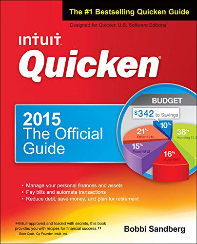 9780071850391: Quicken 2015 The Official Guide for Windows!