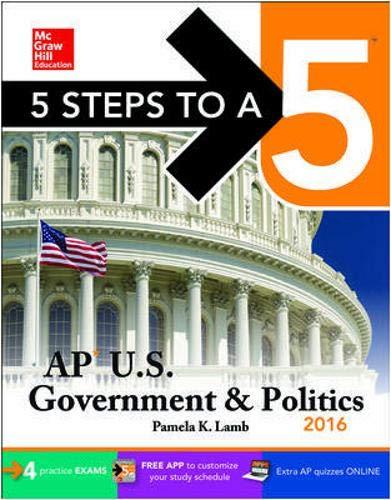 9780071850544: 5 Steps to a 5 AP Us Government & Politics 2016