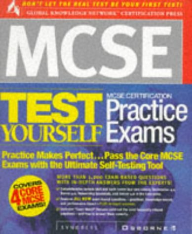 9780072118544: MCSE Certification Test Yourself Practice Exams