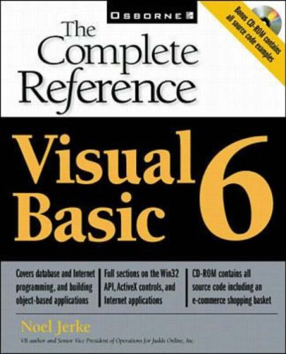 9780072118551: Visual Basic 6 (The Complete Reference)