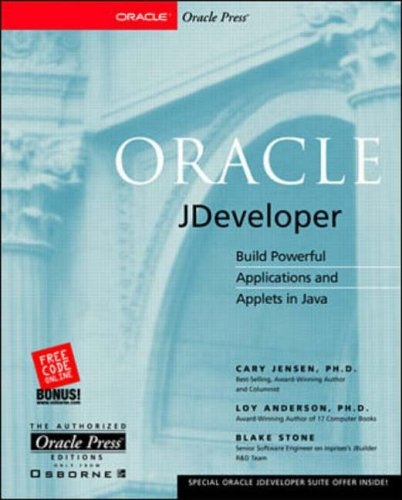 9780072118636: Oracle JDeveloper (The authorized Oracle Press editions)