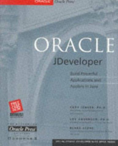 9780072118636: Oracle JDeveloper