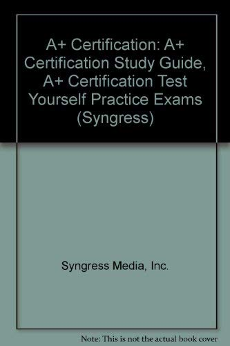 9780072118780: A+ Certification Study Guide Box Set