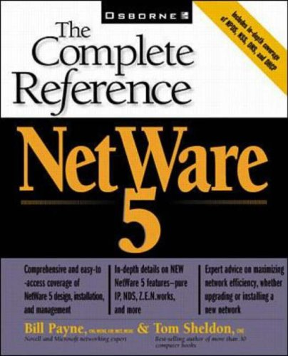 9780072118827: Novell Netware 5 (The Complete Reference)