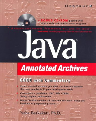 9780072119022: Java Annotated Archives