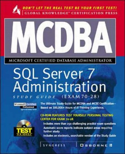 9780072119046: MCDBA SQL Server 7 Administration Study Guide (Book/CD-ROM Set)