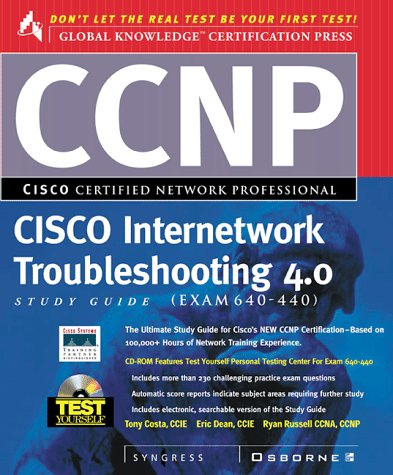 9780072119121: Ccnp Cisco Internetwork Troubleshooting Study Guide 4.0 Study Guide, Exam 640-440