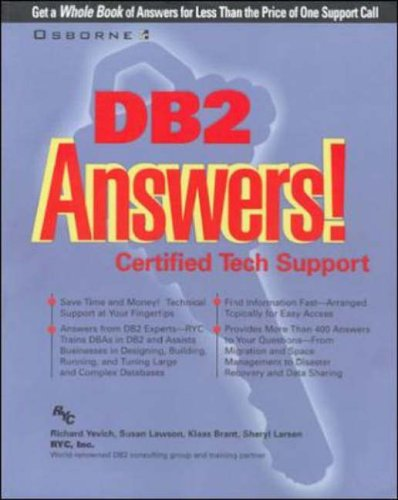 9780072119145: DB2 Answers!: Certified Tech Support