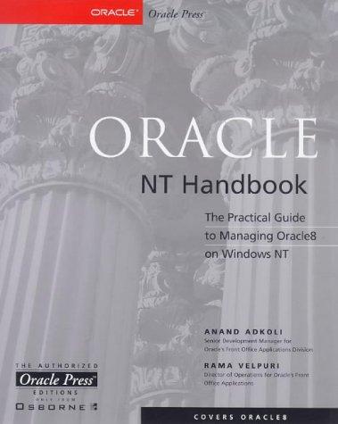 9780072119176: Oracle Nt Handbook