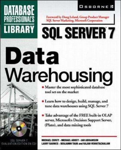 9780072119213: SQL Server 7 Data Warehousing (SQL Server Professional Library)