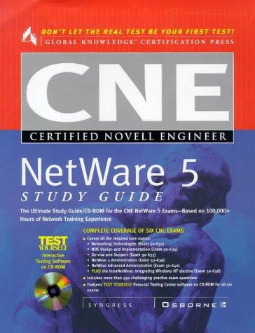 9780072119237: CNE NetWare 5 Study Guide