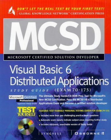 9780072119329: MCSD Visual Basic 6 Distributed Applications Study Guide (Exam 70-175)