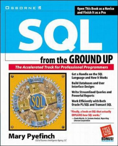 9780072119749: SQL from the Ground Up