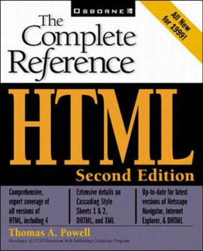 9780072119770: HTML: The Complete Reference