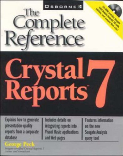 9780072119787: Crystal Reports 7: The Complete Reference